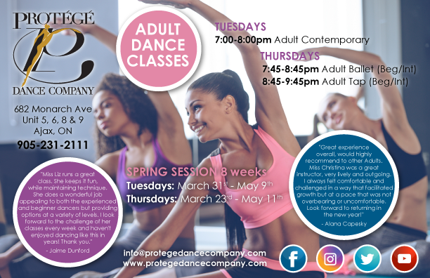 Adult Classes Poster